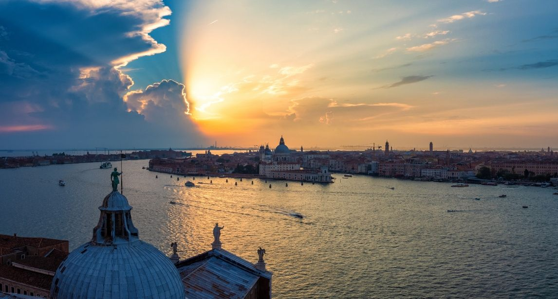 Venice is more than a tourist destination or a wedding location par excellence