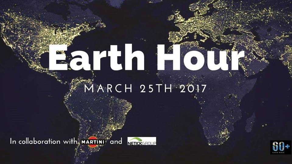 Earth Hour all'Hilton Milan