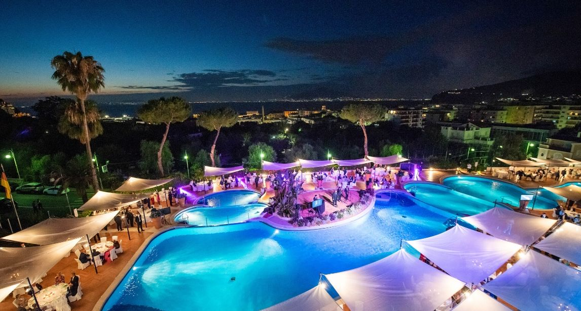 Ripartono i grandi eventi all'Hilton Sorrento Palace
