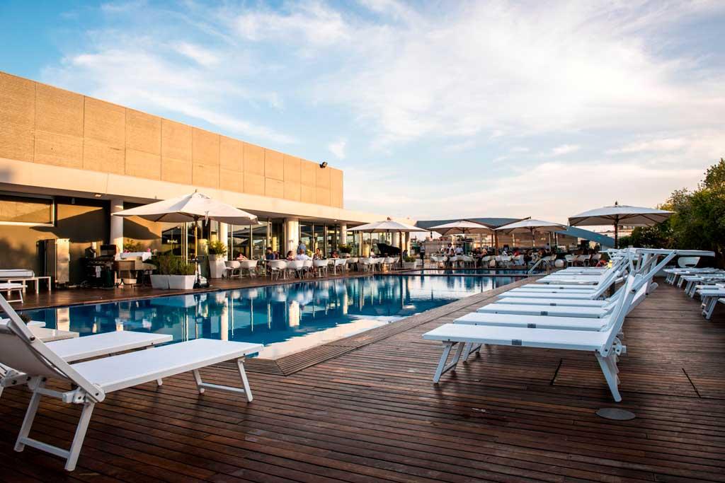 Il Sette Rooftop Del Radisson Blu Es Hotel Roma