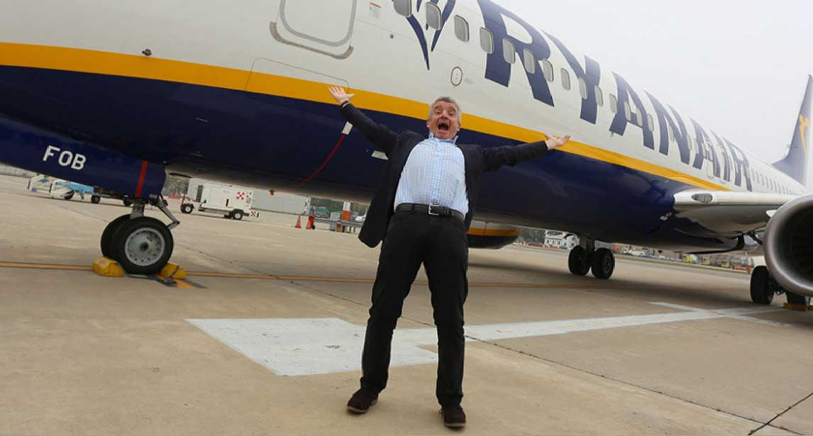 Michael O'Leary, Chief Executive Officer di Ryanair_1