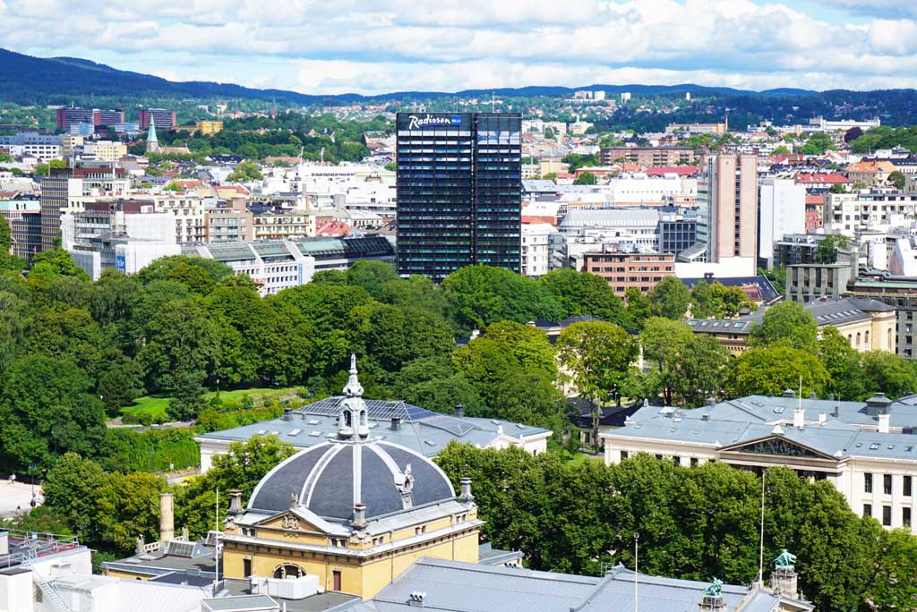 The city center of Oslo, Norway_2