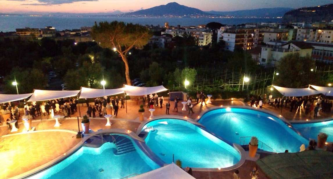 L'Hilton Sorrento Palace, sede dell'ITT Conference 2017