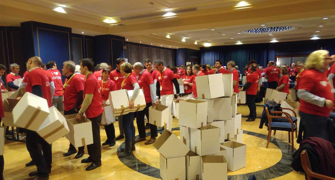 Team Building pro Caritas al Grand Hotel Dino