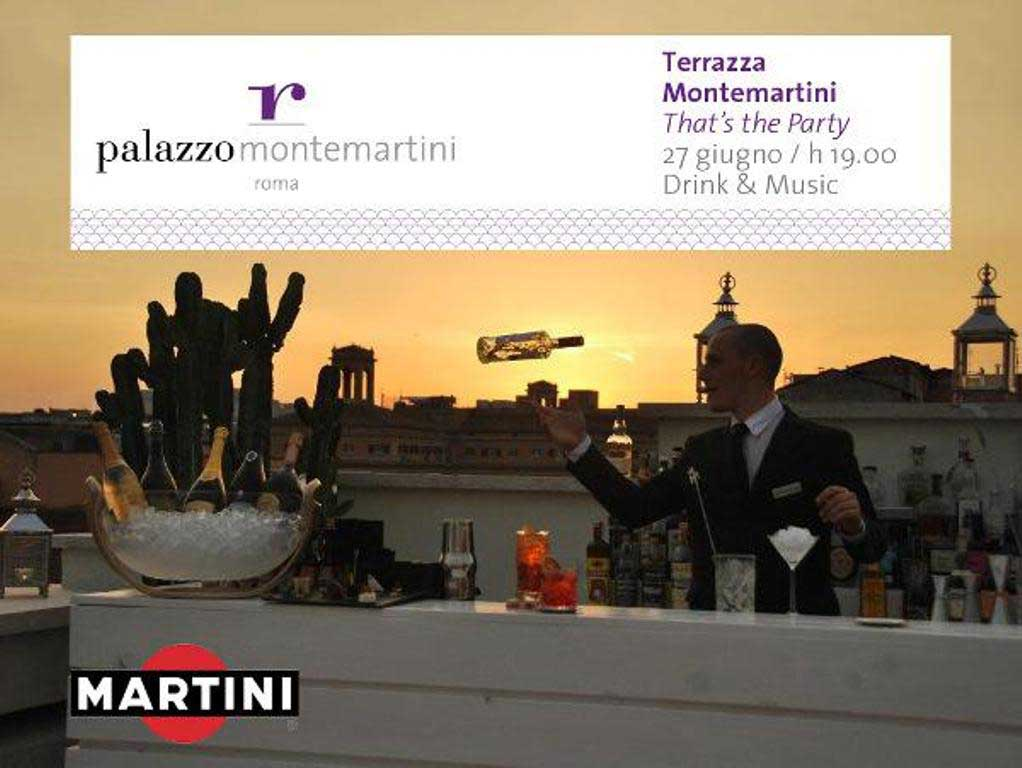 TERRAZZA MONTEMARTINI: THAT\'S THE PARTY!