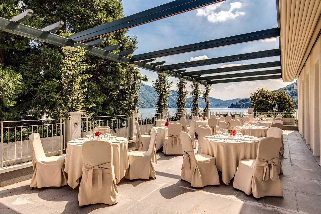 Terrazza, Grand Hotel Imperiale, Como