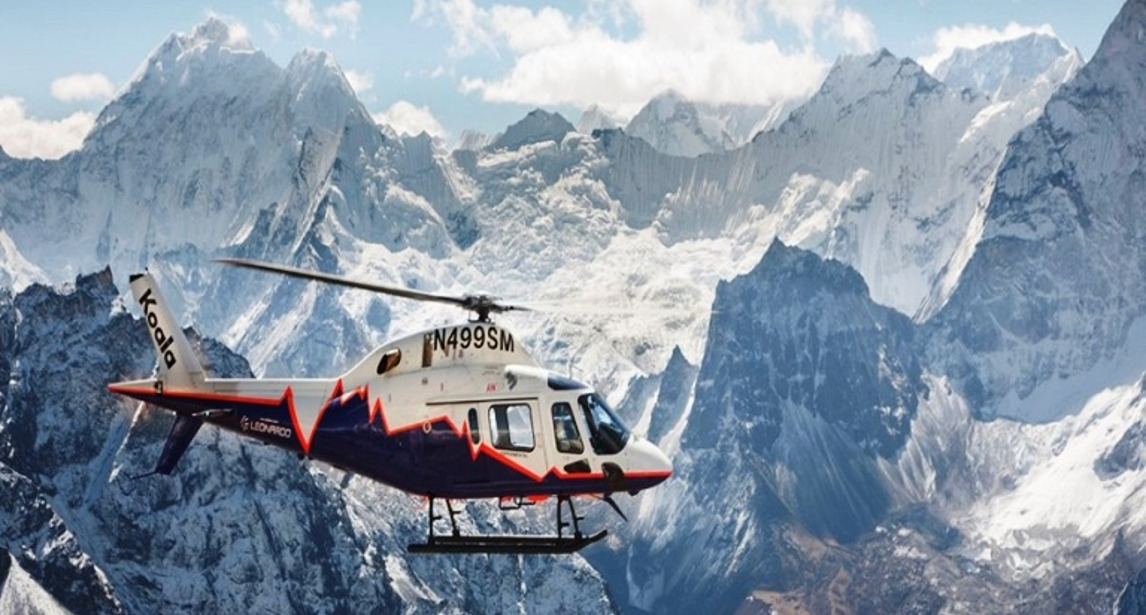 Helicopter experience a Villa Torretta