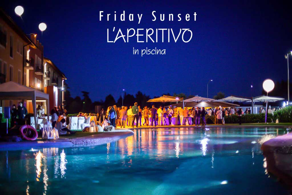 Hotel Parchi Del Garda: I Friday Sunset_3