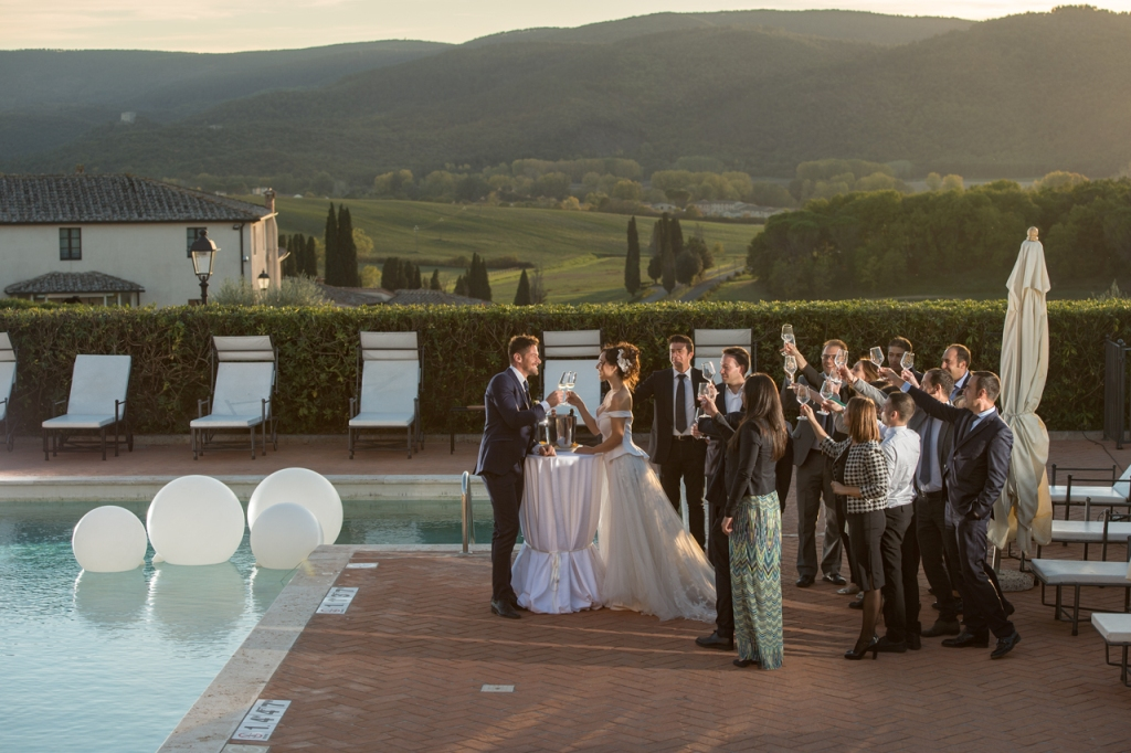 La Bagnaia Golf & Spa Resort: soluzione ad hoc per un wedding party perfetto_6