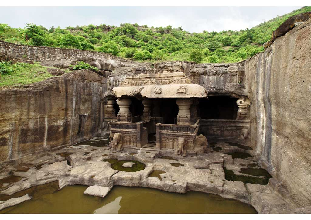 3 top 10 India Grotte di Ellora, Maharashtra