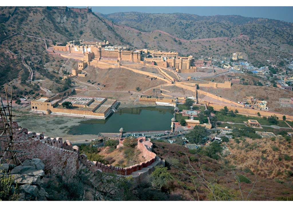 9 top 10 India Fortezze collinari del Rajasthan, Amer Fort, Jaipur