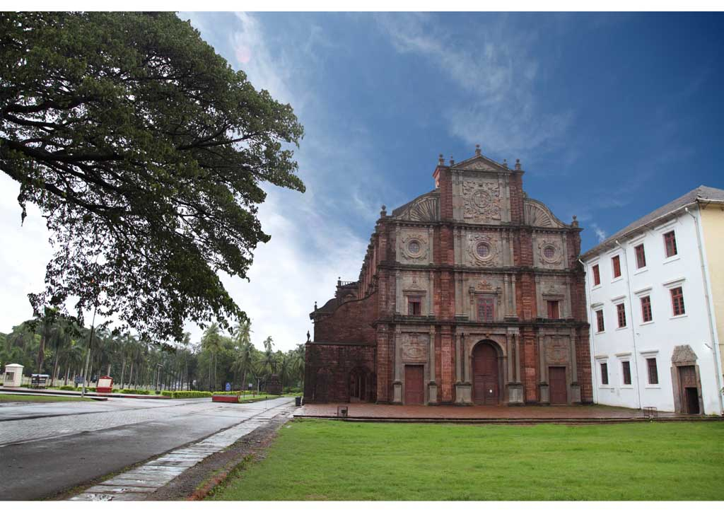 Chiese e conventi di  Goa Velha, India