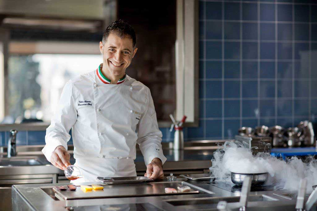 Fabio Ciervo, Executive Chef dell'Hotel Eden, Roma
