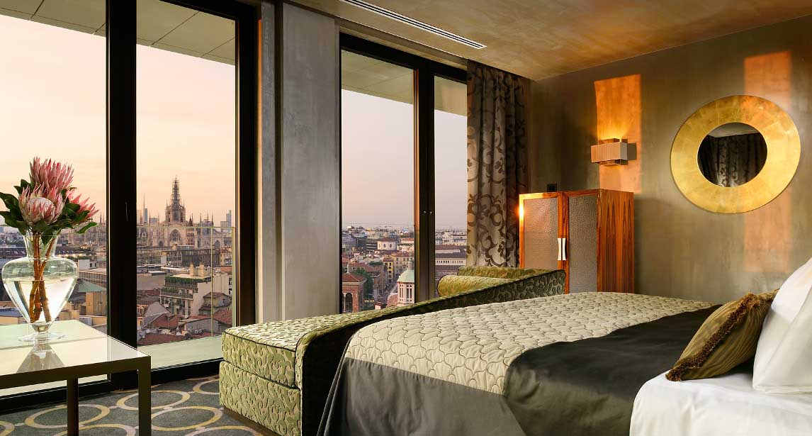Uptown Palace urban chic hotel Milano