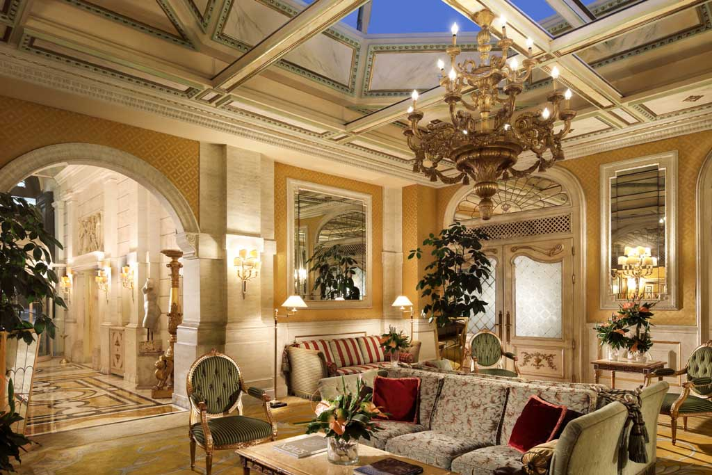 Lobby - Hotel Splendide Royal Roma_7