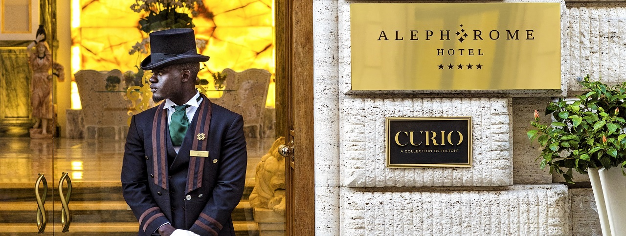 Aleph Rome Hotel <br> Curio Collection by Hilton